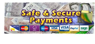 Safe & Secure Payments