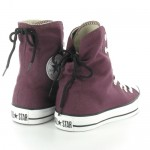 Converse All Star 525997C Slouchy Hi Womens Canvas Hi Top Basketball Boots - Grapewine