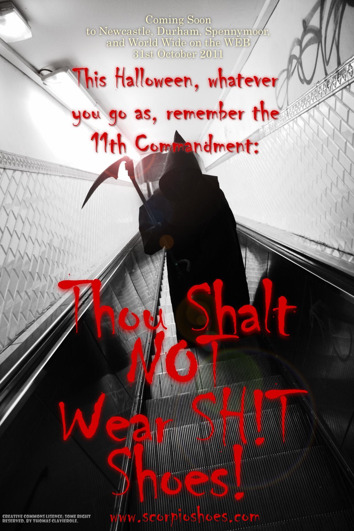 Thou Shalt NOT Wear SH!T Shoes!