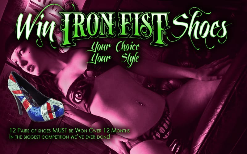 Win Iron Fist Shoes Competition - Entry Form - #winironfistshoes