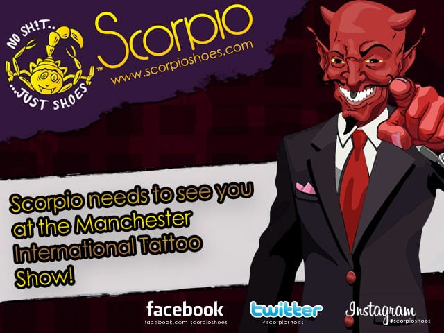 Scorpio Shoes needs to see you there!