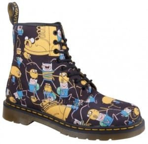 Dr Martens Adventure Time Boots - Castel