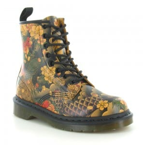 Dr Martens 1460 Tattoo Sleeve 8-eyelet boots