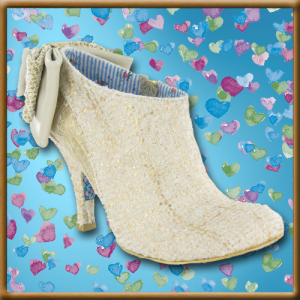 Irregular Choice Baby Beauty Womens Wedding Boots
