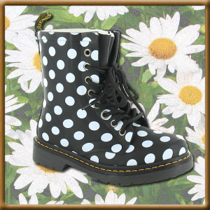 Dr Martens Drench Womens Rubber Welly Boots
