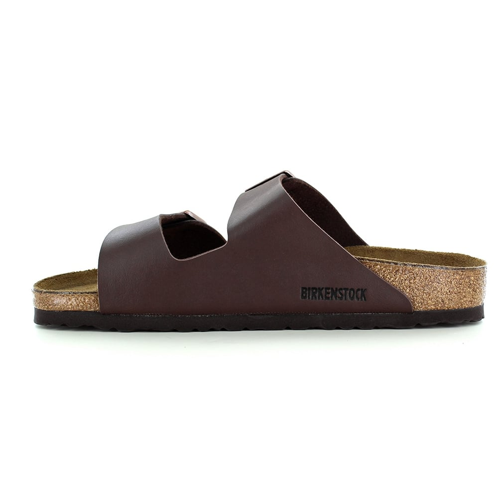 4dbad6463d023 Birkenstock Arizona 0051701 Mens 2-Strap Sandals - Dark Brown
