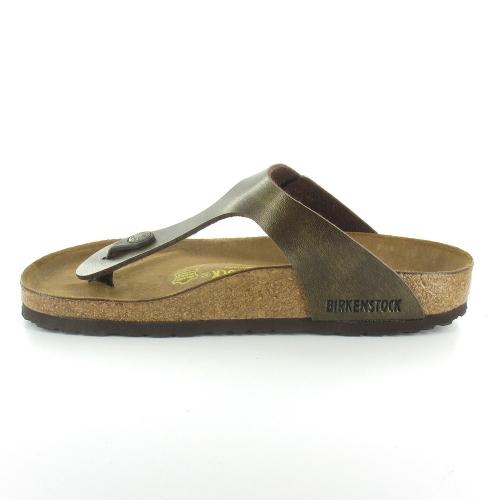 birkenstock gizeh womens flat toe post mule sandals gold. Black Bedroom Furniture Sets. Home Design Ideas