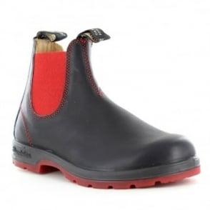 Blundstone 1316 Unisex Leather Chelsea Boots - Black Voltan