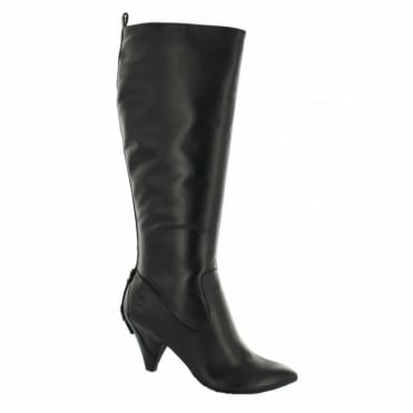 Bronx 13181-I Womens Leather Boots - Black
