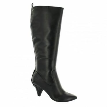 Bronx 13181-I Womens Leather Boots - Black