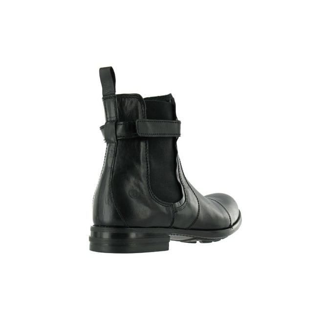 best website 35e1f 3ea7c 43371-B Mens Leather Chelsea Boots - Black