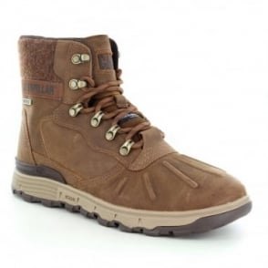 Caterpillar (CAT) Stiction Hi P720448 Mens Waterproof Leather Boots - Brown Sugar