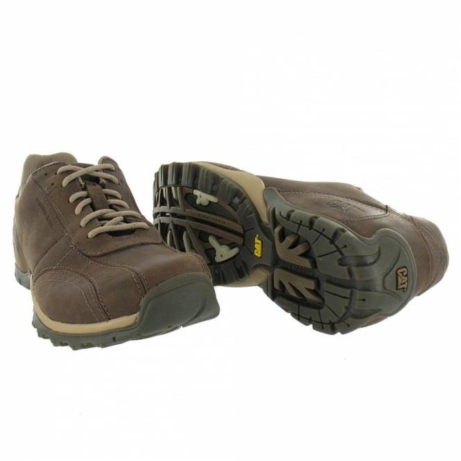 Leather Qvxo5 Up Shoes Sports Caterpillar Cat Lace Jolt Mens Nutmeg sQdtChr