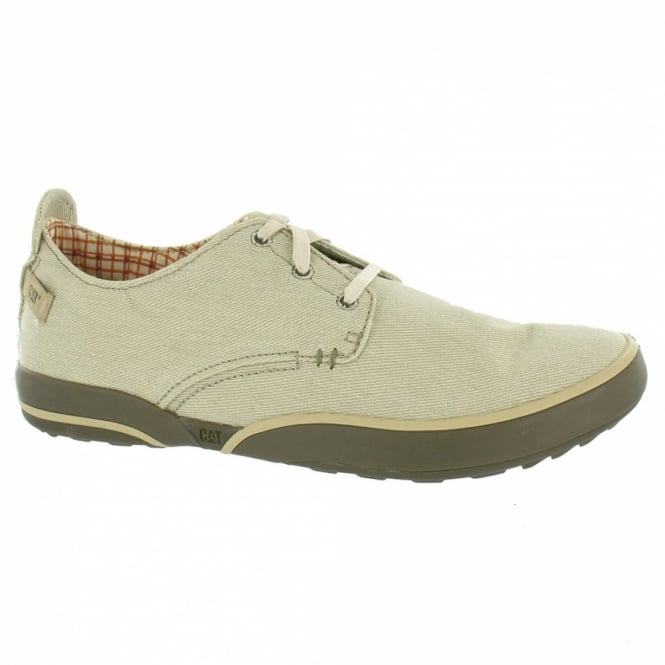 Shoes Casual Caterpillar CAT Mens Status Canvas Oxford Lace up