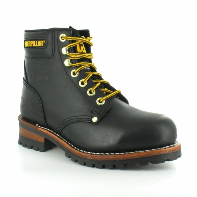 Caterpillar Cat Sequoia Mens Leather Steel Toe Safety Boots
