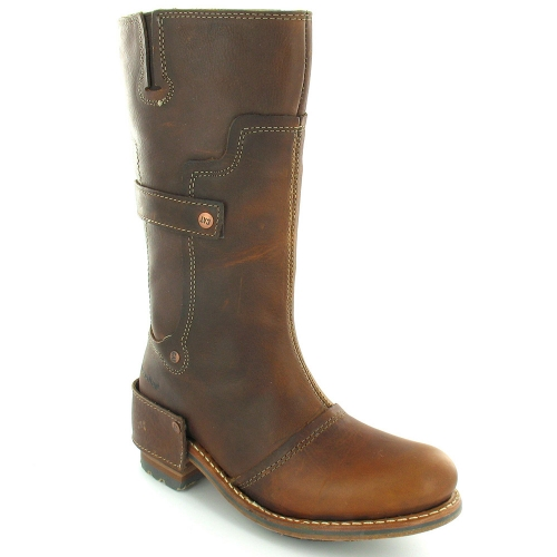 Caterpillar Cat Liv Womens Leather Pull On Mid Calf