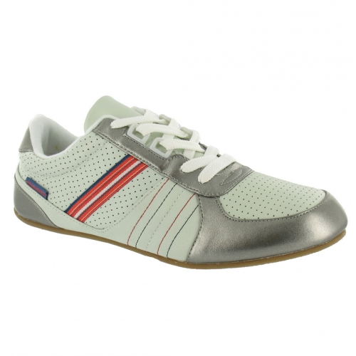 chilli pepper trackday trainers silver white