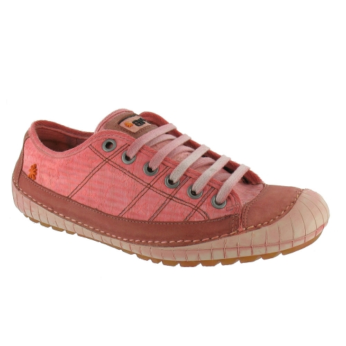 company artium w636 womens leather canvas shoes