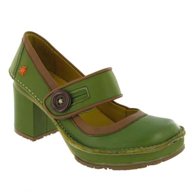 Art Tate Shoes art tate w700 heels - green + brown
