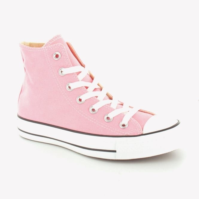 Converse 132309C Womens Canvas Chuck Taylor All Star Hi Basketball Boots - Quartz Pink