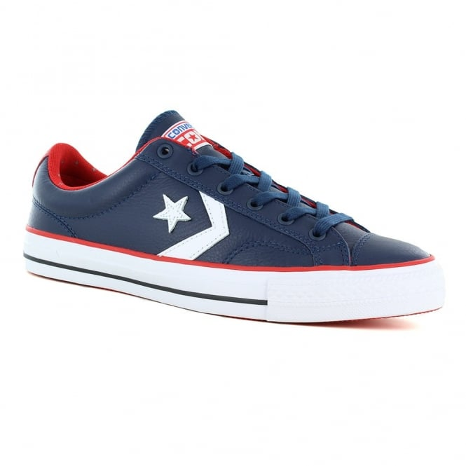 Converse 149722C Chuck Taylor All Star Unisex Star Player Ox Shoes - Nighttime Navy