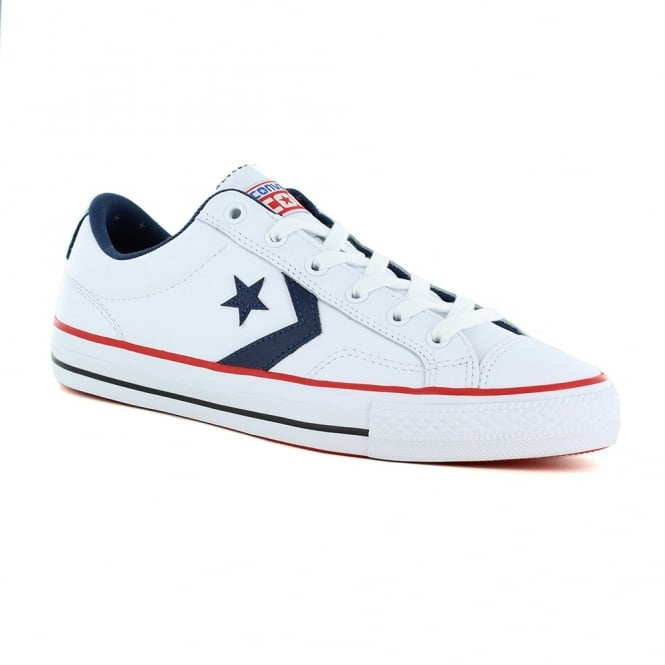Converse 149771C Chuck Taylor All Star Unisex Star Player Ox Shoes - White