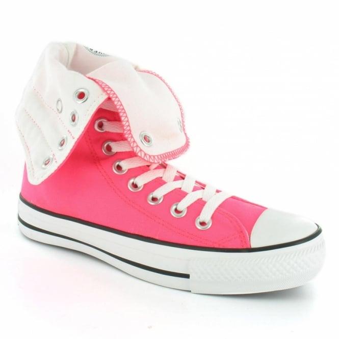 44fa22a3fd52 Converse Chuck Taylor Hi XHi 114037 Unisex Canvas Mid-calf Boots - Neon Pink