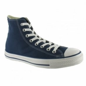 Converse Chuck Taylor All Star Hi Unisex Canvas Boots- Navy