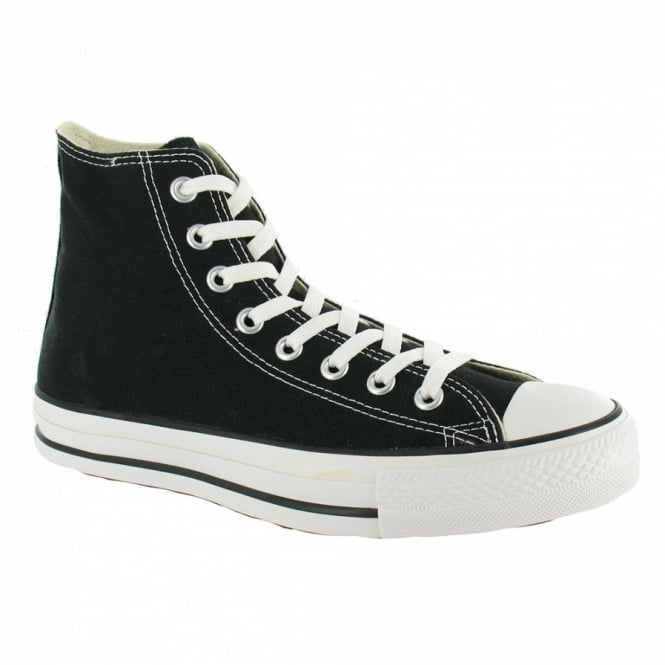 Chuck Taylor All Star Hi Unisex Canvas Shoes Black