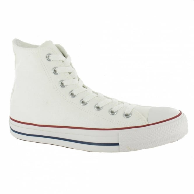 Converse Chuck Taylor All Star Hi Unisex Canvas Shoes - Optical White
