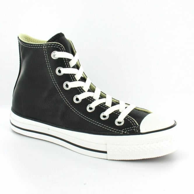 cbbbb87d887b Converse Chuck Taylor All Star Hi 1S581 Unisex Leather Boots - Black ...