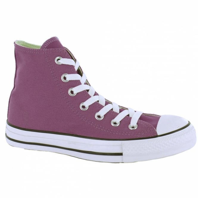 Converse Chuck Taylor All Star Hi Womens Canvas Boots - Purple 170a47e27