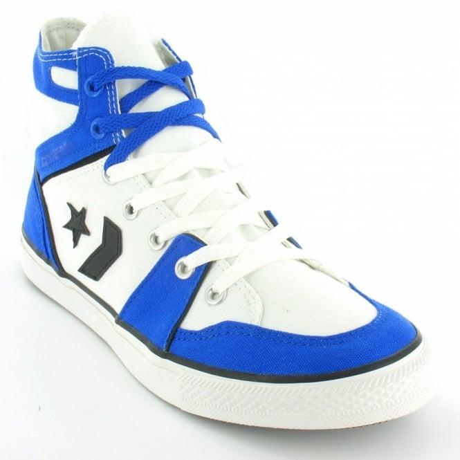 7f48b4cc6dca Converse All Star 121512 Poorman Pro Team Mens Hi Top Basketball Boots -  White  amp