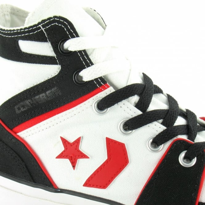 c4237c844e5b Converse All Star 121513 Poorman Pro Team Mens Hi Top Basketball Boots -  White  amp