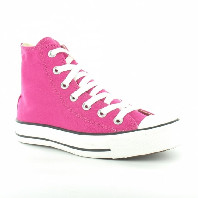 9157e32dfa10 Converse All Star Hi 127538C Womens Canvas Basketball Boots - Cactus Flower  Pink  amp  ...