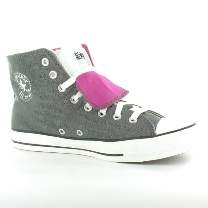 c1b0521483e9 Converse All Star 127540C Twofold Hi Unisex Basketball Boots - Charcoal  Grey