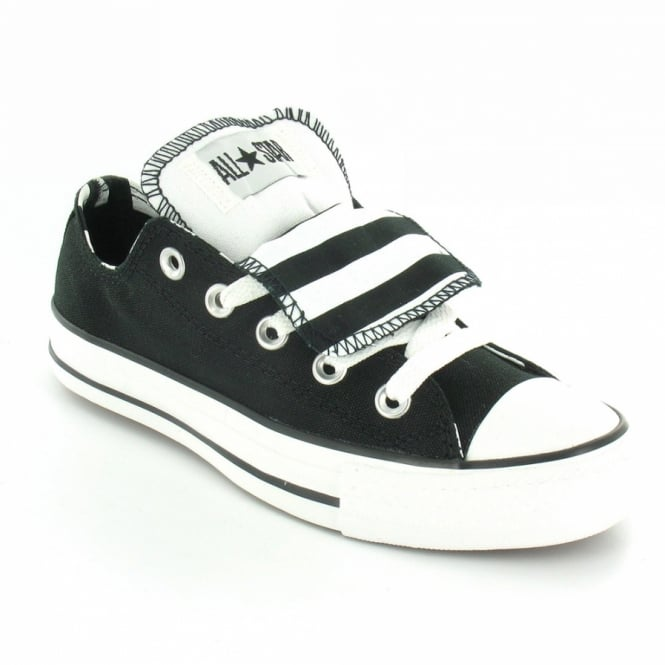 c50c9ae2c65b ... discount code for converse all star 522285 unisex double tongue oxford  5 eyelet basketball shoes black ...
