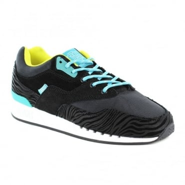 Djinns Rough Run Mens Trainers - Black