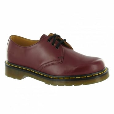 Dr Martens 1461 Mens Leather Shoes - Cherry Red