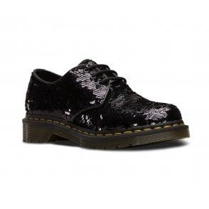 kinder Kaufen Sie Authentic Wählen Sie für echte Dr Martens Serova Womens Leather 3-Eyelet Shoes - Black