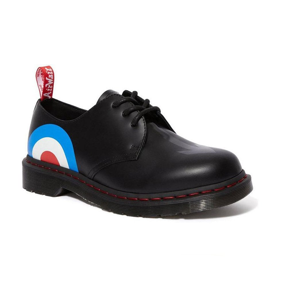 best loved best authentic designer fashion 1461 The Who Unisex 3-Eyelet Leather Shoes - Black Target