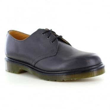 Dr Martens 1461 Unisex Leather Shoes - Charcoal