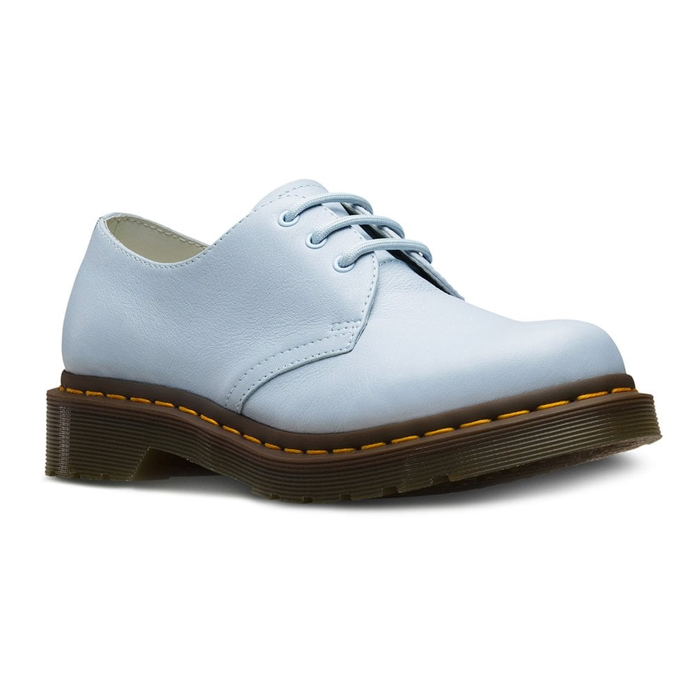 for whole family new authentic wide varieties 1461 Womens 3-Eyelet Leather Shoes - Blue Moon