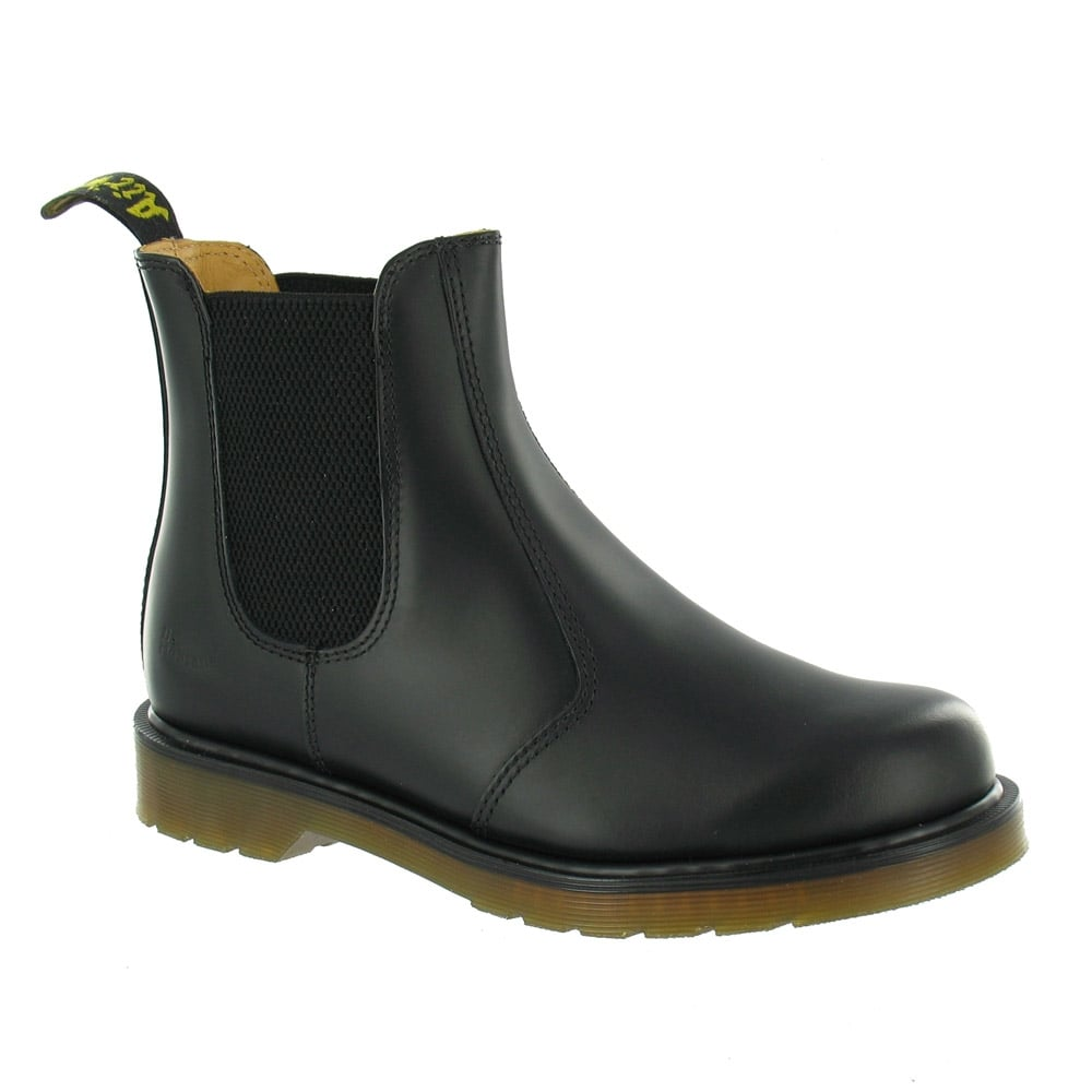 f18da6949c6 Dr Martens 2976 Unisex Leather Pull-Up Chelsea Ankle Boots - Black