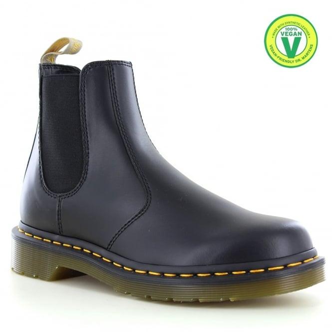 Dr Martens 2976 Unisex Vegan Chelsea Boots - Black