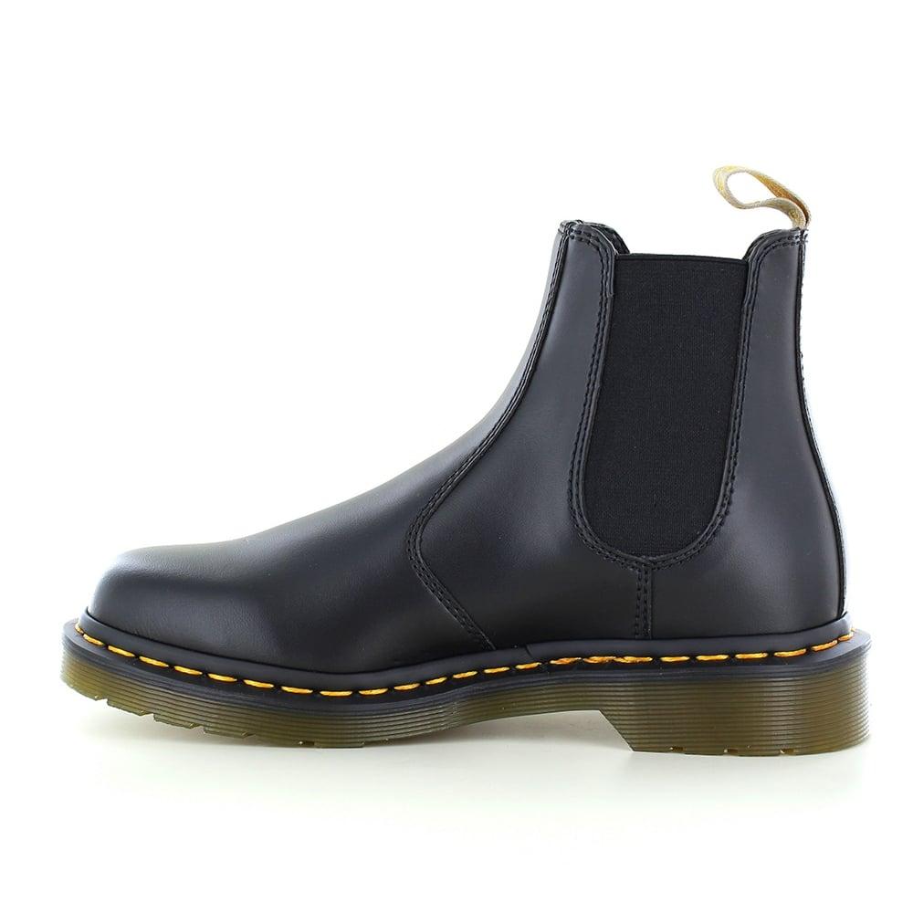dr martens 2976 unisex vegan chelsea boots black
