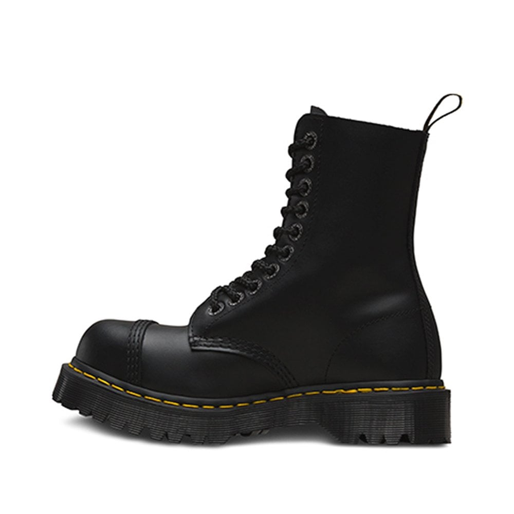 c30f60ee00c 8761 BXB Mens and Womens 10-Eyelet Boots - Black