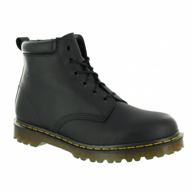Dr Martens 939 Ben Mens Leather 6-Eyelet Boots - Black
