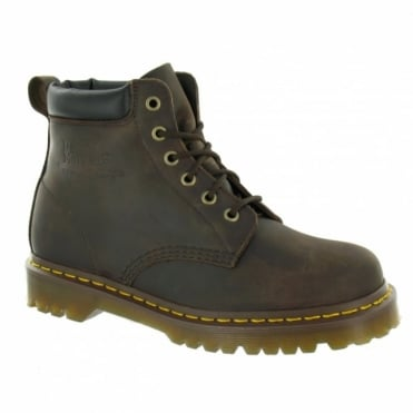 Dr Martens 939 Ben Unisex Leather Ankle Boots - Gaucho Brown