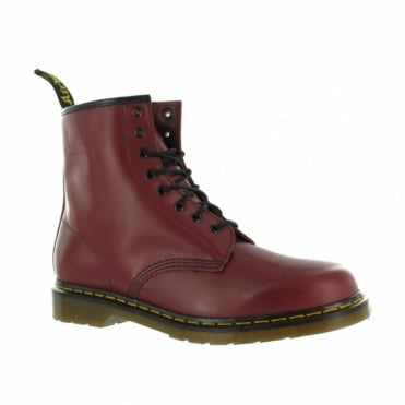 Dr Martens 1460 Unisex Classic Leather Ankle Boots - Cherry Red